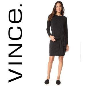 Vince | wool cashmere sweater dress